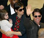 Tom cruise to give a daughter in the Church of Scientology