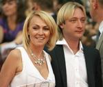 Rudkovskaya changes Plushenko with German designer