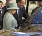 Elizabeth II has replaced the Rolls-Royce Toyota